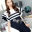 DR-LR-155 Lady Natasha Striped Dress in Navy Style thumbnail 10