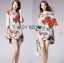 Lady Renee Smart Casual Floral Printed Embroidered Dress L199-69B11 thumbnail 11