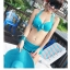 SM-V1-026 ชุดว่ายน้ำแฟชั่น คนอ้วน เด็ก ดารา thumbnail 2
