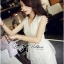 DR-LR-095 Lady Amelia White Classic Lace Peplum Dress thumbnail 3