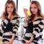 DS-PP-020 Lady Eva Chic Bold Striped Set thumbnail 4