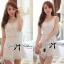 DR-LR-128 Dolce & Gabanna White Lace Playsuit thumbnail 2