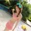 SM-V1-279 ชุดว่ายน้ำแฟชั่น คนอ้วน เด็ก ดารา thumbnail 3