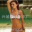 SM-V1-589 ชุดว่ายน้ำบิกินี่ทูพีช สีสันสดใส thumbnail 1
