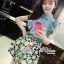 DS-PP-036 Lady Marry Ruffle Denim Shirt and Flowery Skirt Set thumbnail 7