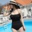 SM-V1-063 ชุดว่ายน้ำแฟชั่น คนอ้วน เด็ก ดารา thumbnail 1