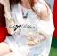 lady Charlotte Little White Lace Off-shoulder Mini Dress L156-49A05 thumbnail 3