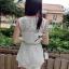 DR-LR-128 Dolce & Gabanna White Lace Playsuit thumbnail 15