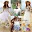 Maxi Dress เดรสดอกไม้สีสันสดใส thumbnail 5