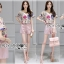 Lady Leslie Playful Chic Painting Printed Top and Shorts Set L263-6915 thumbnail 3