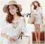 Lady Temperley London Giovanna Embellished White Tunic Dress L210-79B05 thumbnail 2
