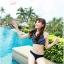 SM-V1-190 ชุดว่ายน้ำแฟชั่น คนอ้วน เด็ก ดารา thumbnail 2