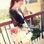 DR-LR-045 Lady Marilyn Stardust Sweet Feminine Dress thumbnail 5