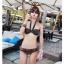 SM-V1-295 ชุดว่ายน้ำแฟชั่น คนอ้วน เด็ก ดารา thumbnail 2
