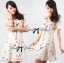 DR-LR-195 Lady Anna Sweet Mini Berries Print Chiffon Dress thumbnail 5