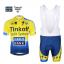 ชุดปั่นจักรยานแขนสั้นทีม TinkOff เสื้อปั่นจักรยาน กับ กางเกงปั่นจักรยาน(แบบมีเอี่ยม) thumbnail 1