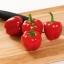 พริกหวานจิ๋ว สีแดง - Red Miniature Sweet Pepper thumbnail 1