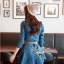 DR-LR-025 Lady Ribbon's Made Lady Mara Chic Denim Dress thumbnail 4