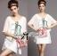 Lady Briony Playful Layered Sequin Dress Set สีขาว thumbnail 3