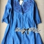 DR-LR-158 Lady Rosalie Smart Chic Embroidered Denim Shirt Dress thumbnail 9