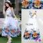 Maxi Dress เดรสดอกไม้สีสันสดใส thumbnail 2