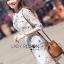 Lady Serena Smart Feminine Embroidered Cotton Dress L272-9914 thumbnail 2