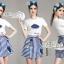 Set cartoon T-shirt embroidered skirt cute by Aris Code thumbnail 3