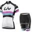 ชุดปั่นจักรยานผู้หญิง LIV White เสื้อปั่นจักรยาน พร้อมกางเกงปั่นจักรยาน thumbnail 1