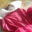 เดรสเจ้าหญิงนิทรา สีชมพูสวย การตัดเย็บดีค่ะ ไซส์ 110,120,130 thumbnail 3