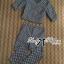 Lady Clara Polka Dot Zip-Up Jacket and Pants Set L125-79C02 thumbnail 7
