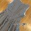 Lady Jennifer Summery Pretty Daisy Embroidered Plaid Dress L265-6901 thumbnail 14