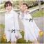 DR-LR-207 Lady Eva Basic Minimal Chic Flared Shirt Dress in White thumbnail 10