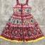 Dress พิมลายดอกไม้ทั้งตัว ซิกเนเจอร์D&G thumbnail 4