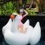 SM-V1-498 ชุดว่ายน้ำแขนยาวสีชมพูขาว เสื้อเปิดร่องอกเซ็กซี่ (เสื้อแขนยาว+บิกินี่) thumbnail 5
