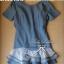 DR-LR-039 Emma Denim Layer Trim Mini dress thumbnail 2