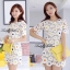DR-LR-212 Lady Vivid Floral Lace Mini dress, Partysu Korea thumbnail 13