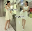 DR-LR-159 Lady Nicole Sexy Chic Pleated Dress with Belt thumbnail 5