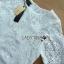 Lady Amanda Classic White Bold Lace Dress L194-69B06 thumbnail 14