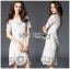 Lady Anna Classy Floral Studded Embellished Lace Dress L234-85C14 thumbnail 10