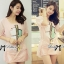 Lady Briony Playful Layered Sequin Dress Set สีชมพู thumbnail 1