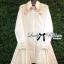 Lady michelle Pretty Flamingo Embroidered Shirt Dress L147-75E06 thumbnail 4