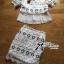 Chloe Embroidered Lace with Pleated and A-Line Skirt Set L167-89C09 thumbnail 9