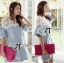 DR-LR-094 Lady Natalie Casual Slouchy Lace and Denim Dress thumbnail 4