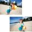 SM-V1-037 ชุดว่ายน้ำแฟชั่น คนอ้วน เด็ก ดารา thumbnail 5