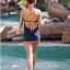 SM-V1-086 ชุดว่ายน้ำแฟชั่น คนอ้วน เด็ก ดารา thumbnail 13