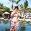 SM-V1-028 ชุดว่ายน้ำแฟชั่น คนอ้วน เด็ก ดารา thumbnail 2