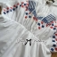 Vivid Blue&Red Stitch Mini Dress thumbnail 14