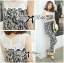 DS-PP-035 Lady Margaret Casual Chic Graphic Print Lace Jumpsuit thumbnail 15
