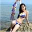 SM-V1-215 ชุดว่ายน้ำแฟชั่น คนอ้วน เด็ก ดารา thumbnail 9