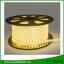 ไฟเส้น LED แบบแบน ROPELIGHT SMD 5050/6mm AC 220v.Warm White ยาว 100เมตร